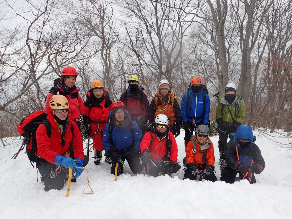2019/12/14-15 たに川岳 雪上訓練