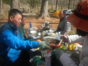 GWは、上高地でキャンプ