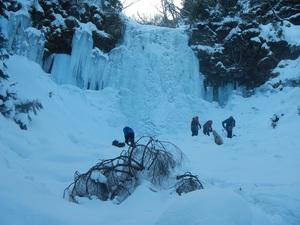 夏沢鉱泉のアイスギャラリー