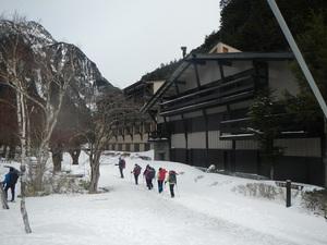 2/20 冬の上高地 スノーハイク