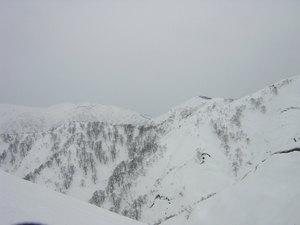 タカマタギ山頂から