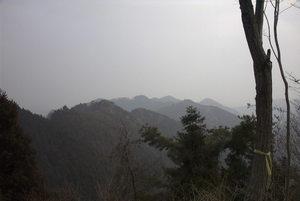 二子山中央稜3ピッチ目