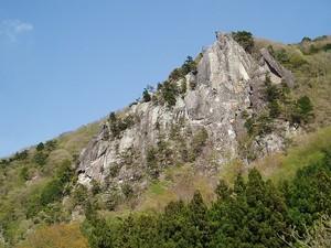 太刀岡山左岩稜