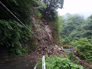 早戸川林道(通行止め)