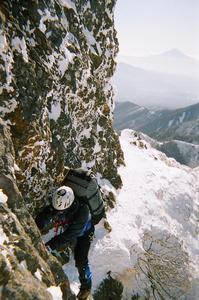 八ヶ岳阿弥陀南稜の森下さん
