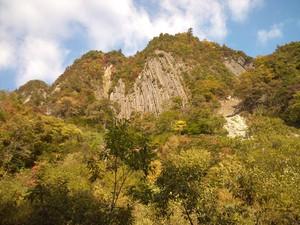 秋山郷・布岩