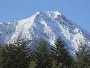 八ヶ岳赤岳の東面を眺めた