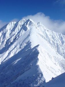 赤岳主稜登攀