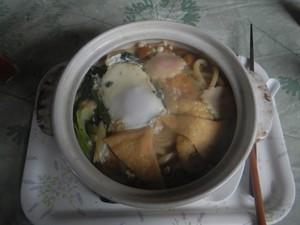 丹沢鍋割山の鍋焼きうどん