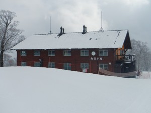神楽スキー場の和田小屋
