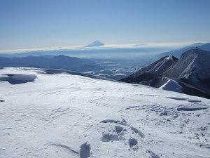 阿弥陀岳の北稜9