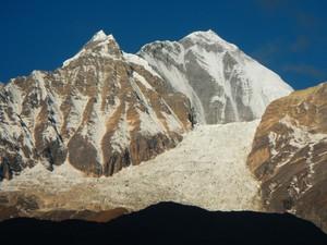 中部ネパール ダウラギリ主峰