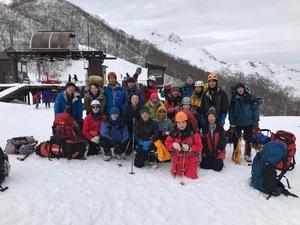 15〜16日雪上訓練